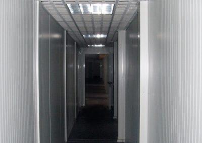 flurcontainer verbindung zu den büros