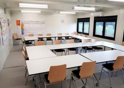 aula scolastica prefabbricata