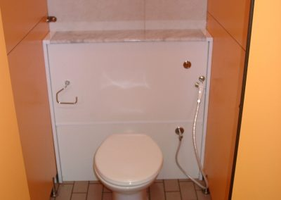 wc with hand shower
