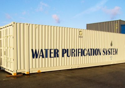 WATER PURIFICATION ISO CONTAIENER