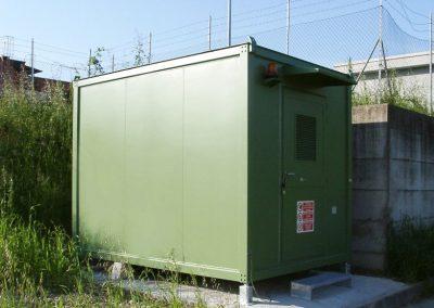 Cabina elettrica prefabbricata