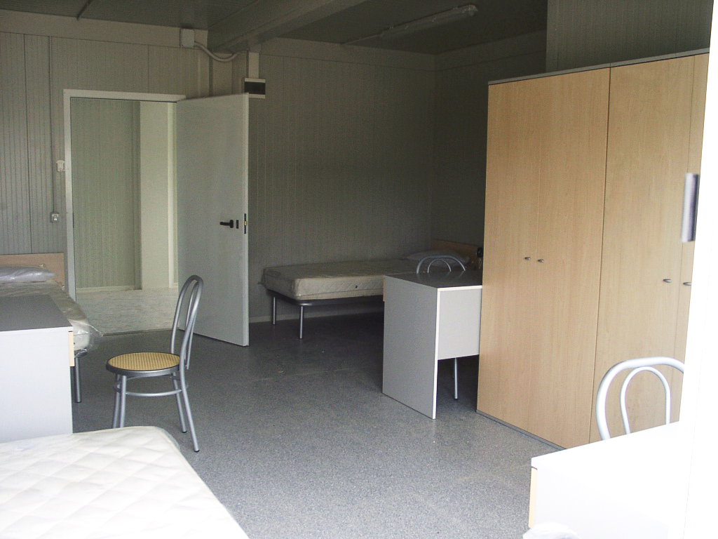 Modular Offices and Changing Rooms