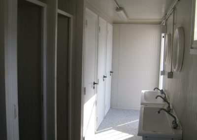 modular prefab toilets and showers