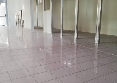 laundromat with tiles