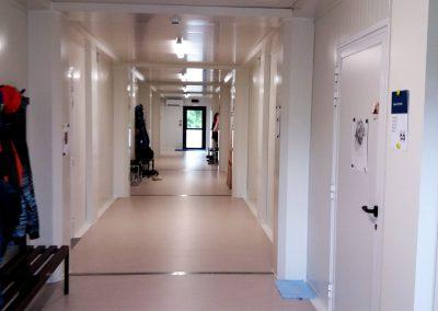central school corridor